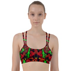 Faces Line Them Up Sports Bra