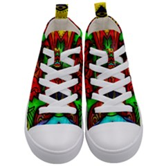 Faces Kid s Mid Top Canvas Sneakers
