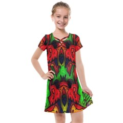 Faces Kids  Cross Web Dress