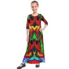 Faces Kids  Quarter Sleeve Maxi Dress