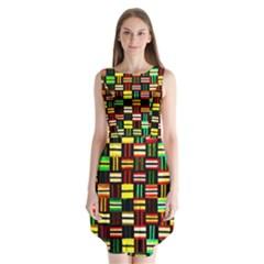 9 Sleeveless Chiffon Dress
