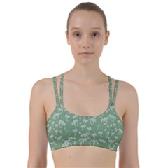 Tropical Pattern Line Them Up Sports Bra