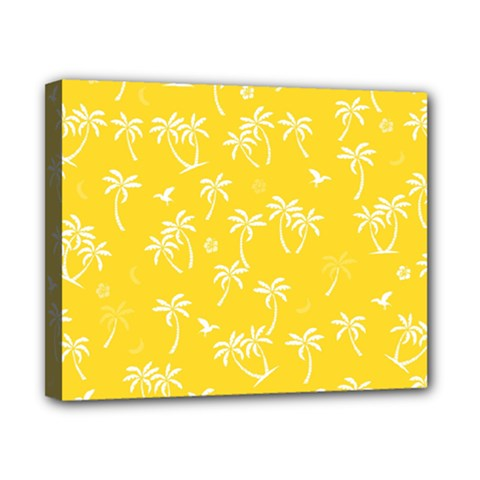Tropical Pattern Canvas 10  X 8