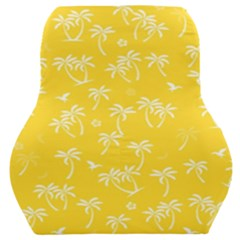 Tropical Pattern Car Seat Back Cushion  by Valentinaart