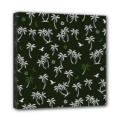 Tropical Pattern Mini Canvas 8  X 8