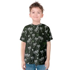Tropical Pattern Kids  Cotton Tee