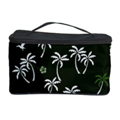 Tropical Pattern Cosmetic Storage Case
