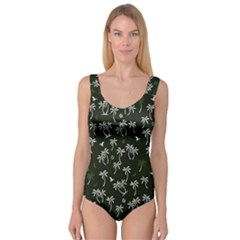 Tropical Pattern Princess Tank Leotard