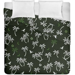 Tropical Pattern Duvet Cover Double Side (king Size)