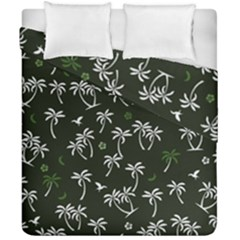 Tropical Pattern Duvet Cover Double Side (california King Size)