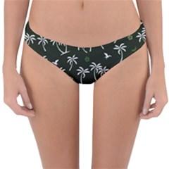 Tropical Pattern Reversible Hipster Bikini Bottoms
