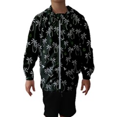 Tropical Pattern Hooded Windbreaker (kids)