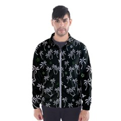 Tropical Pattern Windbreaker (men)