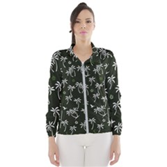Tropical Pattern Windbreaker (women)