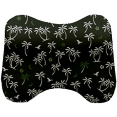 Tropical Pattern Head Support Cushion