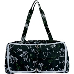 Tropical Pattern Multi Function Bag