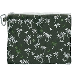 Tropical Pattern Canvas Cosmetic Bag (xxxl)