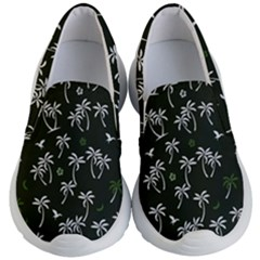 Tropical Pattern Kid s Lightweight Slip Ons