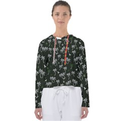 Tropical Pattern Women s Slouchy Sweat
