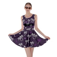 Tropical Pattern Skater Dress