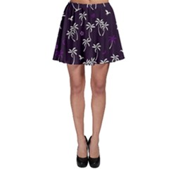 Tropical Pattern Skater Skirt