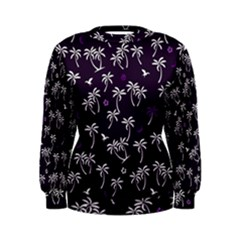 Tropical Pattern Women s Sweatshirt