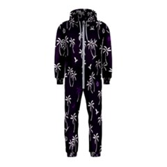 Tropical Pattern Hooded Jumpsuit (kids)