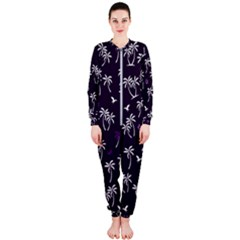 Tropical Pattern Onepiece Jumpsuit (ladies)