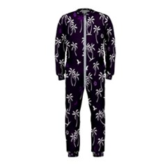 Tropical Pattern Onepiece Jumpsuit (kids)