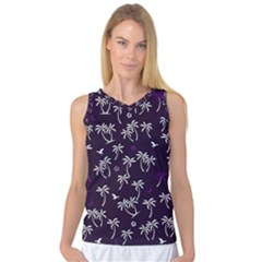 Tropical Pattern Women s Basketball Tank Top