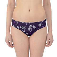 Tropical Pattern Hipster Bikini Bottoms