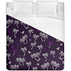 Tropical Pattern Duvet Cover (california King Size)