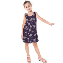 Tropical Pattern Kids  Sleeveless Dress