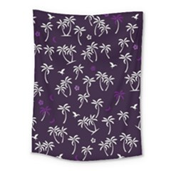 Tropical Pattern Medium Tapestry