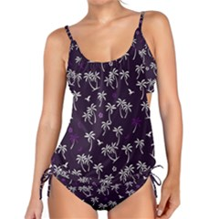 Tropical Pattern Tankini Set