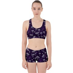 Tropical Pattern Work It Out Gym Set