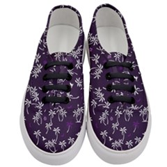 Tropical Pattern Women s Classic Low Top Sneakers
