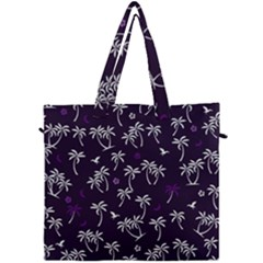 Tropical Pattern Canvas Travel Bag
