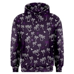 Tropical Pattern Men s Overhead Hoodie