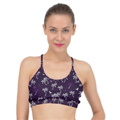 Tropical Pattern Basic Training Sports Bra