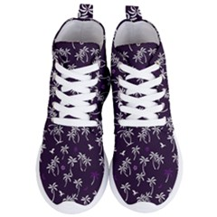 Tropical Pattern Women s Lightweight High Top Sneakers