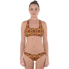 3 2c Cross Back Hipster Bikini Set