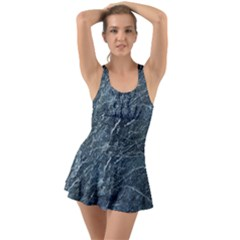 Granite 0184 Ruffle Top Dress Swimsuit