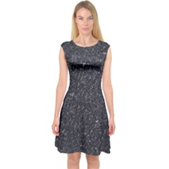 Granite 0102 Capsleeve Midi Dress