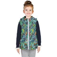 D 4 Kid s Hooded Puffer Vest