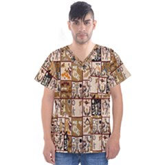 D 5 Men s V Neck Scrub Top