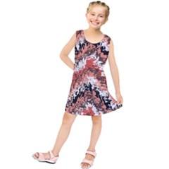 Watercolor Native Zig Zags Kids  Tunic Dress