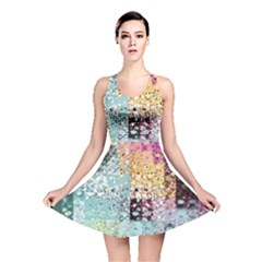 Abstract Butterfly By Flipstylez Designs Reversible Skater Dress