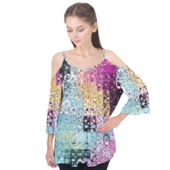 Abstract Butterfly By Flipstylez Designs Flutter Tees