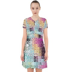 Abstract Butterfly By Flipstylez Designs Adorable In Chiffon Dress